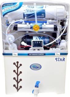 Aqua Flow Enterprises digital with auto fluse 12 L RO + UV + UF + TDS Water Purifier