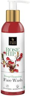 GOOD VIBES Rosehip Deep Cleansing  for Women Face Wash