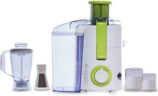 BMS Lifestyle Juicer 500FPN4 Raw Juice Machine 5 IN 1 Food Processor With 3 Jar And Fruit Filter Attac...