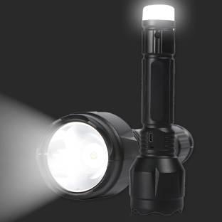 Pick Ur Needs Lithium Battery Hi - 20 Watt Bright Led Flashlight With Nigh Light Hand Torch Torch