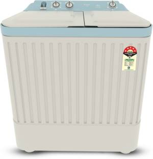 CANDY 6.5 kg 5 star Semi Automatic Top Load White, Blue