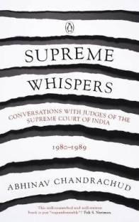 Supreme Whispers: Supreme Court Judges: 1980-90