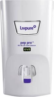 LIVPURE LIV-PEP-PRO-PLUS+ 7 L RO + UV + UF Water Purifier with Taste Enhancer