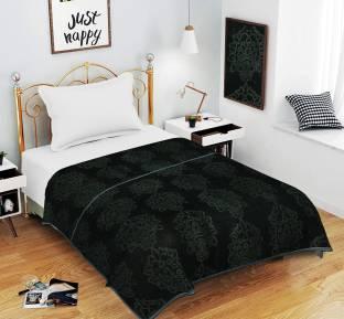 SPANGLE Self Design Double Mink Blanket