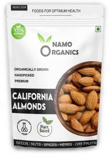 Namo organics 250 GM Natural California Almonds ( Badam Giri ) - 100 % Premium & Authentic Almonds