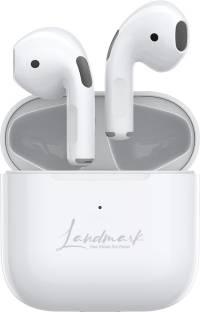 Landmark BH107 INSANE With Charging Case True Wireless Stereo - White Bluetooth Headset