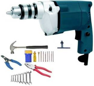 Tulsway Power Full DREAM 350W 10MM ELECTRIC DRILL Machine Pistol Grip Drill With Household Accessory. ...