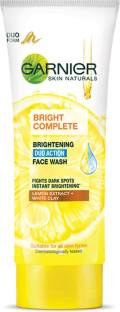 GARNIER Bright Complete BRIGHTENING DUO ACTION , 100g Face Wash