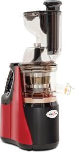 Kenstar Cold Press Juicer Fit Pro - 150W 150 Juicer (2 Jars, Red, Black)