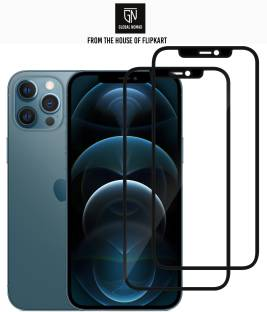 GLOBAL NOMAD Edge To Edge Tempered Glass for Apple Iphone 12 Pro Max