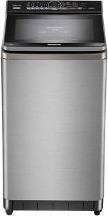 Panasonic 8 kg Fully Automatic Top Load with In-built Heater Grey