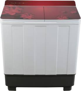 Lloyd 10.2 kg Semi Automatic Top Load Red, White