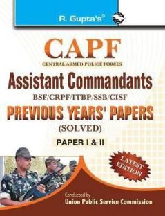 CAPF Assistant Commandants 2020 Edition