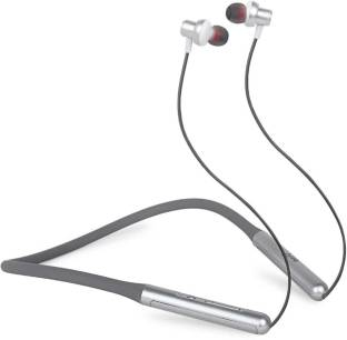 DKND VENTURES airV-19 Neck Band in-Ear Bluetooth 5.0 Wireless Earphones(GREY Bluetooth Headset