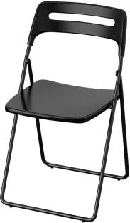 VARNA IKEA GUNDE Folding chair ( Finish Color - Black ) Plastic Living Room Chair