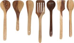 Wood Art Store P5-DVWY-L1OZ Wooden Spatula