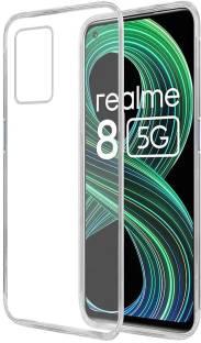 Flipkart SmartBuy Back Cover for Realme 8 5G, Realme 8s 5G Clear TPU Case