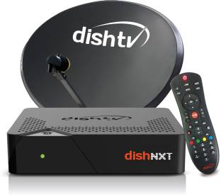 Dish TV SD+ Connection - ALL India Pack 1 Month Super Family Pack