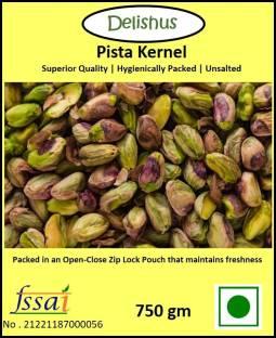 Delishus Premium Pista Kernels  Unsalted Pistachios Kernel Without Shell   Plain Pista Pistachios