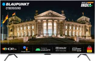 Blaupunkt Cybersound 126 cm (50 inch) Ultra HD (4K) LED Smart Android TV with Dolby MS12 & 60W Speaker...