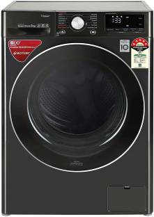 LG 9 kg Fully Automatic Front Load with In-built Heater Grey