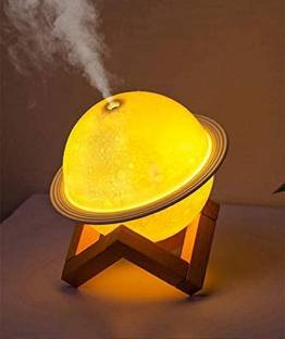 Jiya Enterprise 2 in 1 Moon Lamp Cool Humidifier 3D LED Night Light Humidifiers For Home Portable Room...