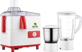 Bevel Surakav 500 Juicer (2 Jars, Red & White)
