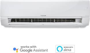 Nokia 4 in 1 Convertible Cooling 1.5 Ton 5 Star Split Triple Inverter Smart AC with Wi-fi Connect  - W...