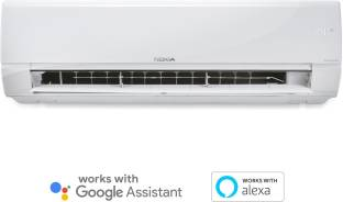 Nokia 4 in 1 Convertible Cooling 2 Ton 3 Star Split Triple Inverter Smart AC with Wi-fi Connect  - Whi...