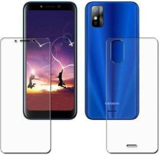 BE FOUND IN HUB Front and Back Tempered Glass for Karbonn X21