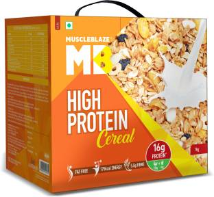 MUSCLEBLAZE High Protein Breakfast Protein Cereal