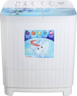 Candes 9 kg Semi Automatic Top Load Blue, White