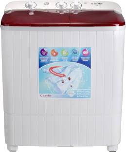 Candes 6.5 kg Semi Automatic Top Load Red, White