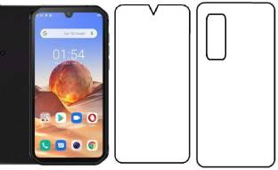 Mudshi Front and Back Screen Guard for Blackview BV9900E
