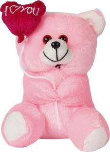 stuffed toy sweet and soft balloon teddy  - 32 cm
