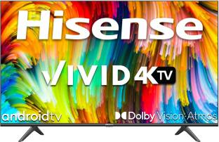 Hisense A6GE Series 108 cm (43 inch) Ultra HD (4K) LED Smart Android TV