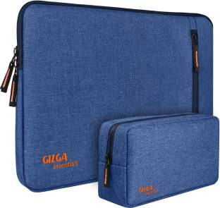 Gizga Essentials Laptop Bag Sleeve for 15 Inch-15.6 inch Laptop Case Cover Pouch MacBook Pro,Includes Charger Case Laptop Sleeve/Cover