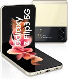 SAMSUNG Galaxy Z Flip3 5G (Cream, 128 GB)