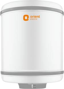 Orient Electric 25 L Storage Water Geyser (Cronos, White)