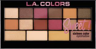L.A. COLORS Sweet! 16 Color Eyeshadow Palette - 20 g