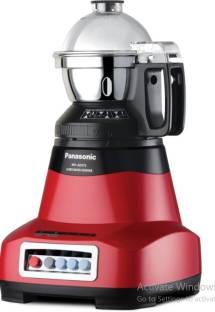 Panasonic AE 475 RED CMR Home Appliances 750 Juicer Mixer Grinder (4 Jars, Red)