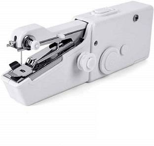 Lusche Portable Hand Sewing Machine cordless Non Electric Mini Stitching Machine For Home Travel Stitch Silai Manual Sewing Machine