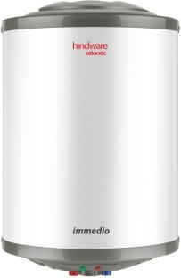 Hindware 25 L Storage Water Geyser (Immedio, White)