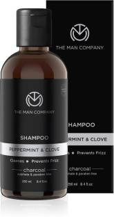 THE MAN COMPANY Charcoal Shampoo and Conditioner For Men