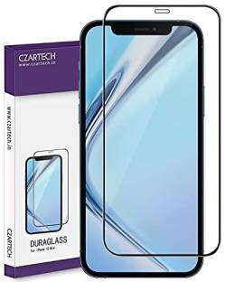 CZARTECH Edge To Edge Tempered Glass for Apple iPhone 12 mini