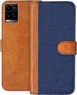Knotyy Flip Cover for Vivo Y33s, vivo Y21