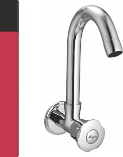 MAYUR OCICH by MAYUR ÖCICH SINK COCK ( HEAVY DUTY ) WITH ROTATING BRASS SPOUT TRIO Bib Tap Faucet