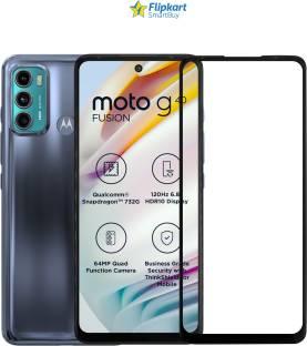 Flipkart SmartBuy Edge To Edge Screen Guard for Motorola G40 Fusion, Motorola G60, Infinix Hot 11S