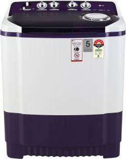 LG 8.5 kg Semi Automatic Top Load Purple, White
