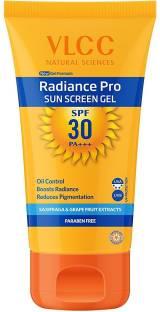 VLCC radiance pro sunscreen gel spf30 - SPF 30 PA+++